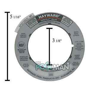 Hayward Sand Filter Valve Label Plate Sticker Spx0710g