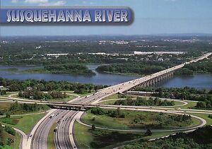 Details about The Wade Bridge, aka I-81 Bridge, Susquehanna River,  Pennsylvania, PA - Postcard