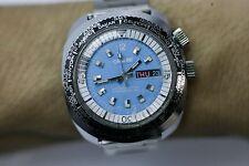 Swiss 100 - World Timer Hand Wind Men's Wrist Watch M.Z Berger Runs & Keeps Time