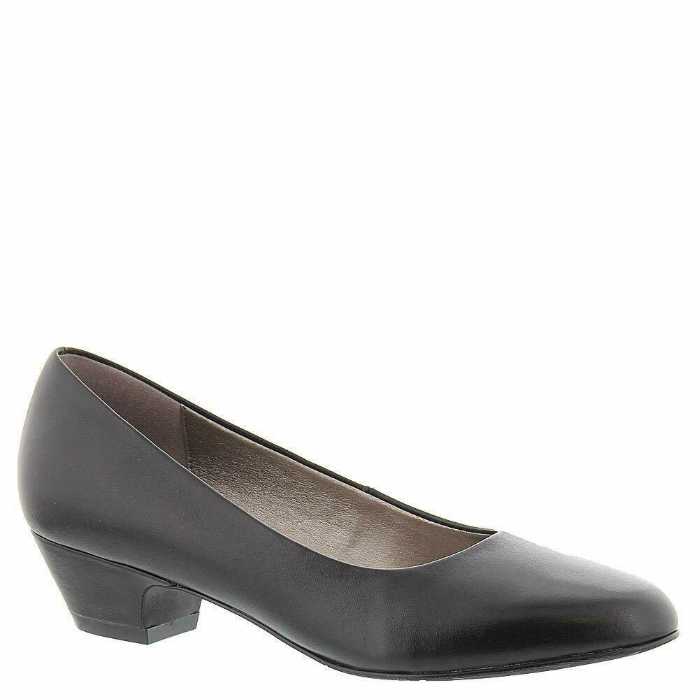ARRAY Womens Lily Leather Closed Toe Classic Pumps, Black, Size 7.5 VyiE US