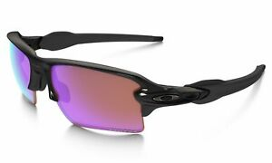 bcf831bb562 Oakley Oo9188-05 Flak Jacket 2.0 Xl Polished Black With Golf Prizm Lens  Sunglasses