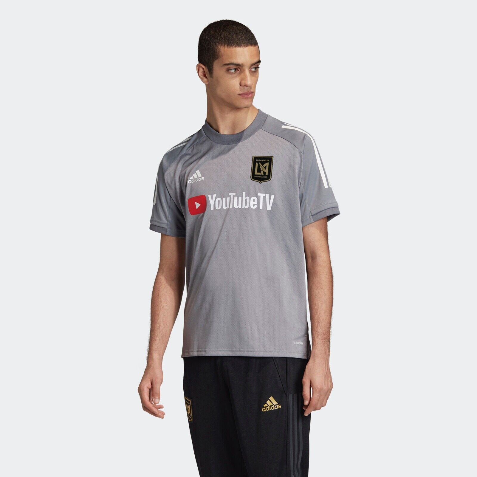 adidas Men's Los Angeles FC Lafc Training Jersey Fi2345 XL for ...