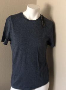 Men-039-s-BLUE-BANANA-REPUBLIC-T-shirt-Taille-S-Neuf-Avec-Etiquettes-a-manches-courtes