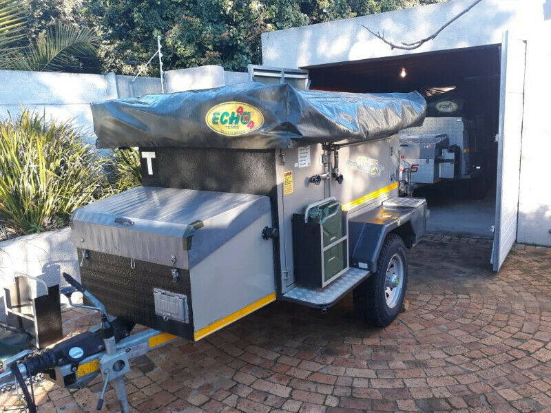 Echo 4 off road 4x4 trailer for rent