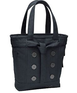 569902a88c7b OGIO Ladies Melrose Button Tote Bag Purse Laptop Carrier Cute Work ...
