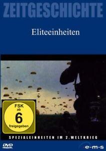 DVD ELITEEINHEITEN - SPEZIALEINHEITEN IM 2. WELTKRIEG - DOKUMENTATION ** NEU **