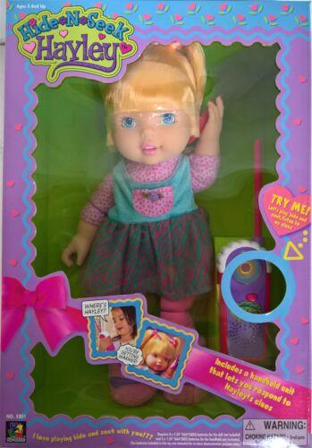 ~ Hide n Seek Hayley Blonde Doll Kid-Riffic Rare Mint in Box