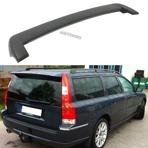 Volvo V70 Wagon 00-07 Gen2 Rear Boot Lid Trunk Spoiler Ducktail Wing