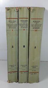 MEMOIRE-DU-GENERAL-DE-CAULAINCOURT-3-TOMOS-LIBR-PLON-PARIS-1933