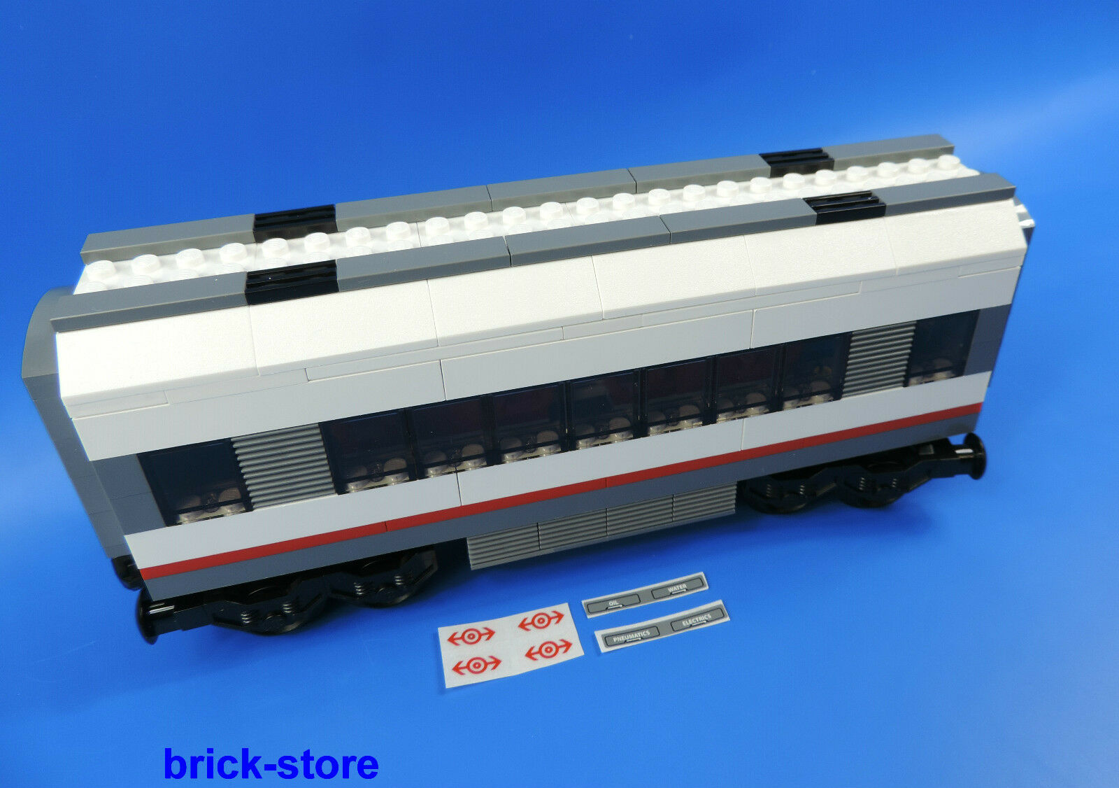 LEGO City   Railway (60051) Wagon Centre Carriage Extension from set 60051