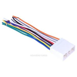 Stereo CD Player Radio Wiring Harness 14Pin Wire Adapter