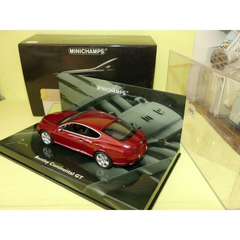 BENTLEY CONTINENTAL GT 2003 2003 2003 red MINICHAMPS 1 43 13f3fd
