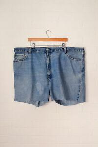 Vintage-Levi-039-s-Coupe-Short-Jeans-Bleu-Moyen-W50