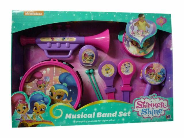 Peppa Pig Musical Band Set  Drum Trumpet Tamborine Maracas /& More Kids Gift Set