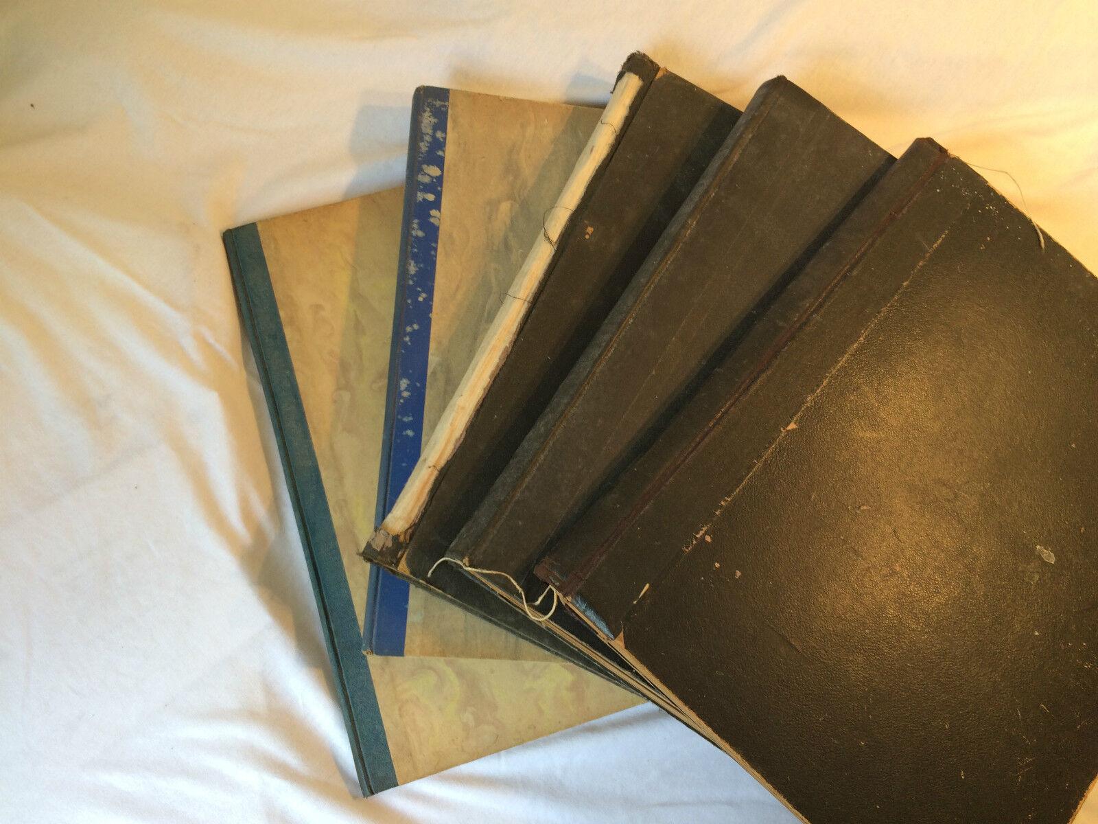 Diverse Antike Notenbücher für Piano und Gesang