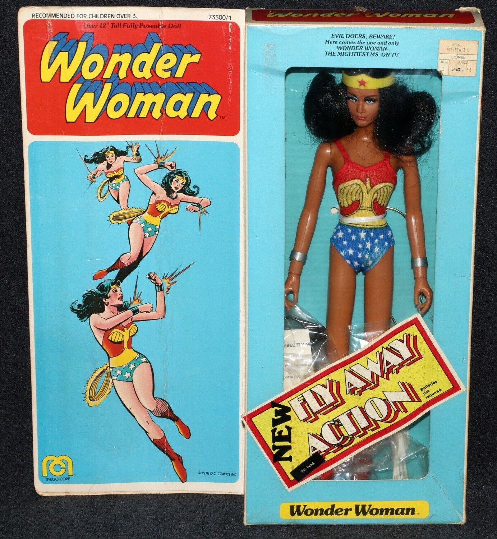 Mego 12  1977 Wonder donna with Outfits No Lynda  autoter MIB 2nd Issue  con il prezzo economico per ottenere la migliore marca