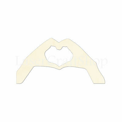 12pcs Blank Unpainted Wooden Cut Horseshoes with Heart Cutout Crafting