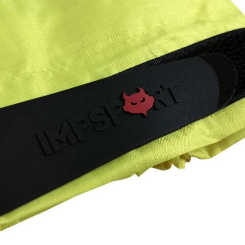 Impsport Drycore 10k Waterproof /& Windproof Cycling Jacket Hi Vis Yellow