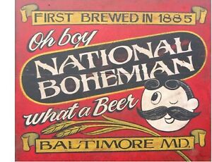 Tool Box Magnet Man Cave OH  Refrigerator Hudepohl Beer Cincinnati