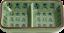 Soja-Saucen Snack /& Dipschale mit zwei Fächern CELADON Schälchen 11x7.5cm