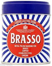 6 X Brasso Metal Polacco ovatta per OTTONE RAME INOX CROMATO Duraglit 75g