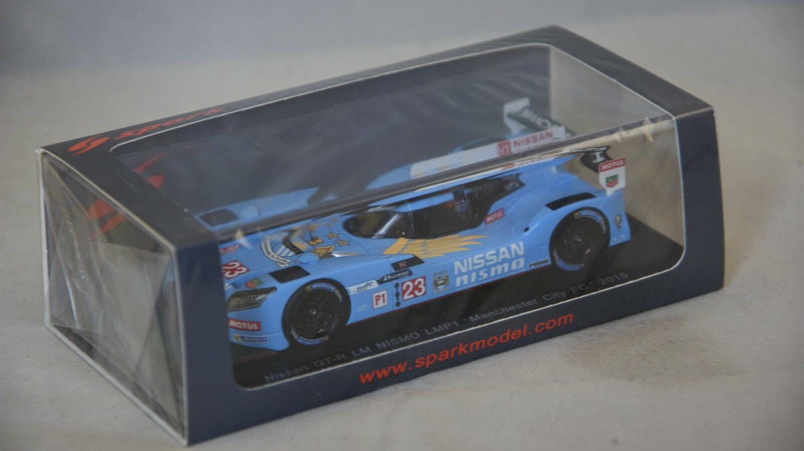 Spark S4561 - NISSAN GT-R LM Nismo Nismo Nismo LMP1 Manchester City 2015  1 43 d3ce02