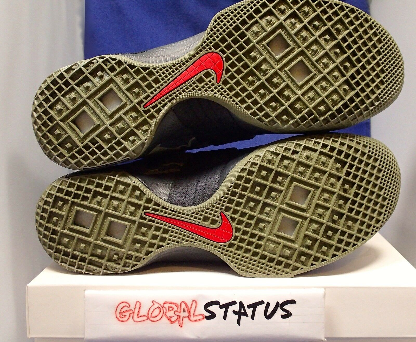 reputable site 7fbdb 95bd2 ... Nike Hombre LeBron Soldier 10 GPa CAMO CAMO CAMO Olive zapatos negros  844378 022 tamaño 11