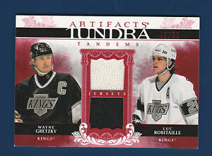 GRETZKY-ROBITAILLE-09-10-ARTIFACTS-TUNDRA-TANDEMS-TT-RG-46-50-NICE-LOOK-0752