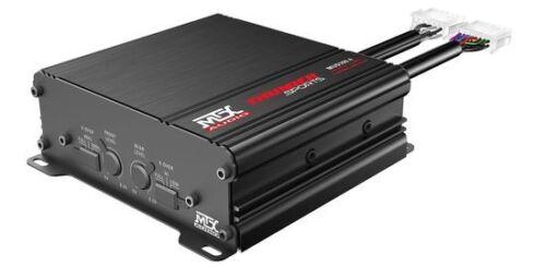 MTX MUD100.4 400W RMS 4 Channel Class D Water Resistant Power Sports Amplifier