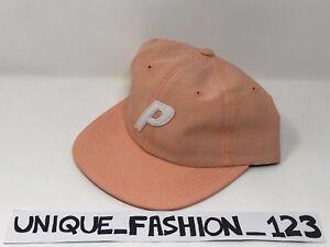 20eb843fd4a PALACE SKATEBOARDS SS16 DENIM PEACH STADIUM 6 PANEL CAMP CAP P HAT ...