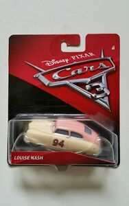 NOVITA-039-CARS-3-Disney-pixar-cars-LOUISE-NASH-2017-RARO-mattel-scala-1-55-maclama