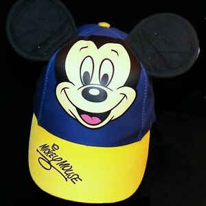 3743a48021a Disney Parks Disneyland Mickey Mouse Ears Baseball Hat Cap Ladies Youth S  Size 7