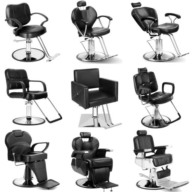 4 All Purpose Hydraulic Wood Arm Reclining Barber Chair Shampoo Salon Equipment For Sale Online Ebay
