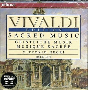 Antonio-Vivaldi-Edition-Vol-1-Sacred-Music-Choral-amp-Solo-BRAND-NEW-10-CD-SET