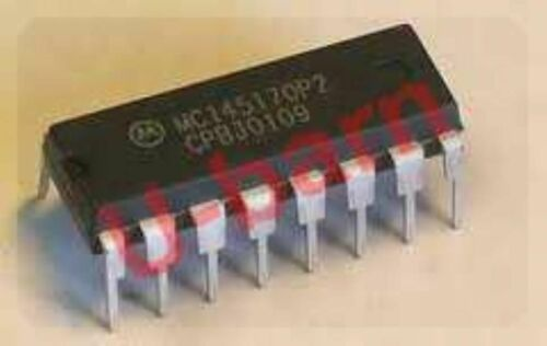 ON MC145170P2   CMOSPLL FREQUENCY SYNTHESIZER WITH SERI