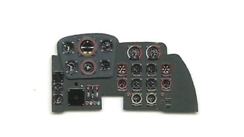 MESSERSCHMITT Me-262 A PHOTO-ETCHED INSTRUMENT PANEL TO TRUMPETER #3211 BY YAHU