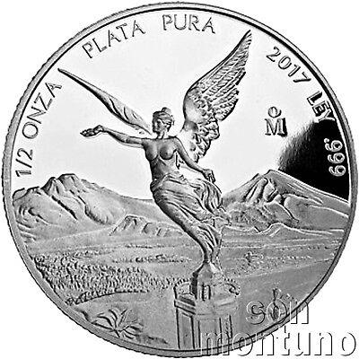 2013 1//2oz Mexician Libertad Mexico Silver .999  1//2 oz
