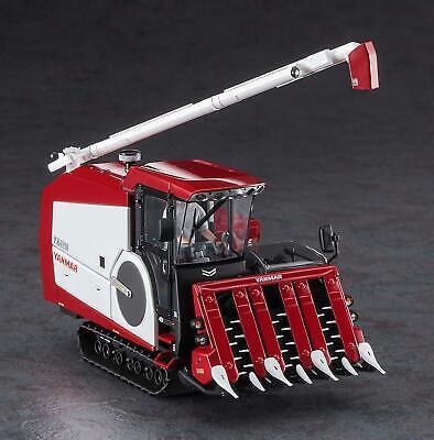 Hasegawa 1//35 construction equipment Series Yanmar combine YH6115 plastic model