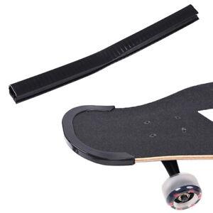Skateboard-Deck-Guards-Protector-U-Channel-Design-Longboard-Rubber-Strip-WH-D