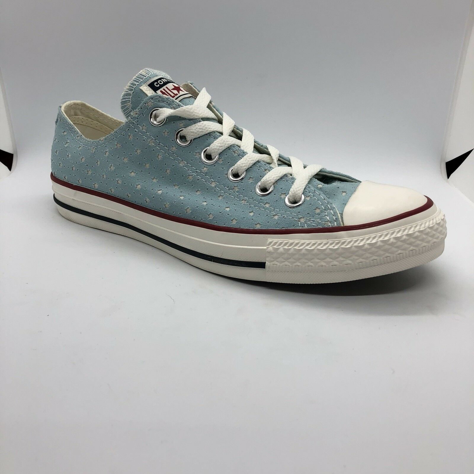 Converse Chuck Taylor All Star Low bleu Star Cut Out Taille 7M 9W (160516F)