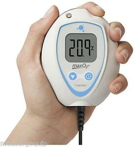 maxtec handheld oxygen analyzer monitor maxo2+ae