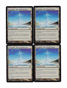 4 Untaidake kaartspellen the Cloud Keeper = Land Champions of Kamigawa Mtg Magic Rare 4x x4