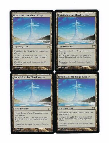 UNTAIDAKE THE CLOUD KEEPER x4 4 4x Champions of Kamigawa MTG Magic Playset Lot