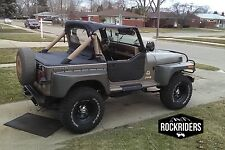 1987-1991 Jeep Wrangler Bikini Top & Tonneau Cargo Cover for Hard Top Models