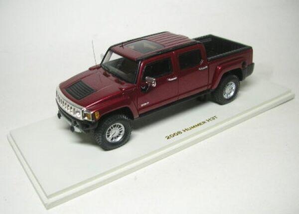 Hummer h3t (Sonoma rojo metalizado) 2008