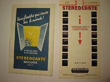 STEREOCARTE BRUGUIERE LAC D'AUVERGNE  N° 2123