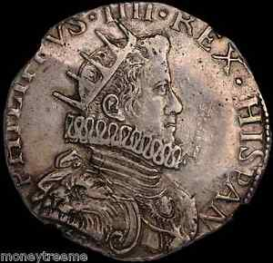 ITALY-MILAN-1630-DATED-KING-PHILIP-IV-NGC-50-SILVER-DUCAT-COIN