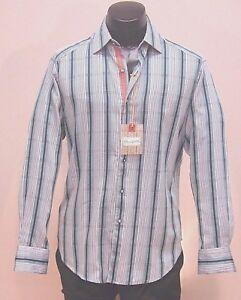 Robert Graham Nwt Men S Designer Shirt 59 99 100 Cotton M Ebay