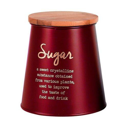 Blechdosen mit Deckel Vorratsdosen Edelstahl Teedose Zuckerdose Kaffeedose Neu