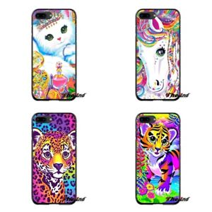 Rainbow-Inspiring-Lisa-Frank-Tiger-For-iPhone-XR-XS-Max-5S-SE-6S-7-8-Plus-Cases